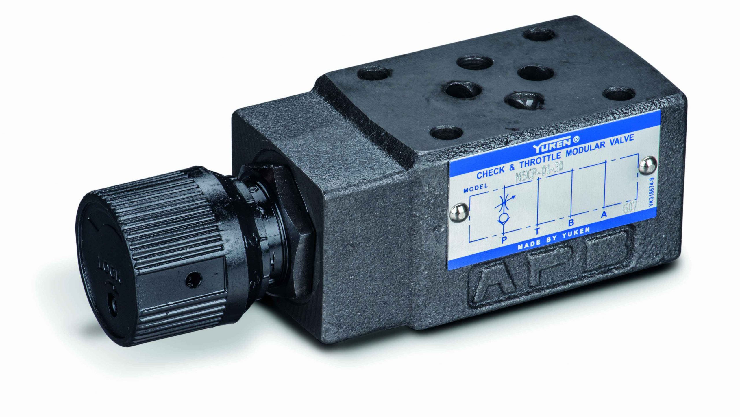cetop 3 flow control valve with check