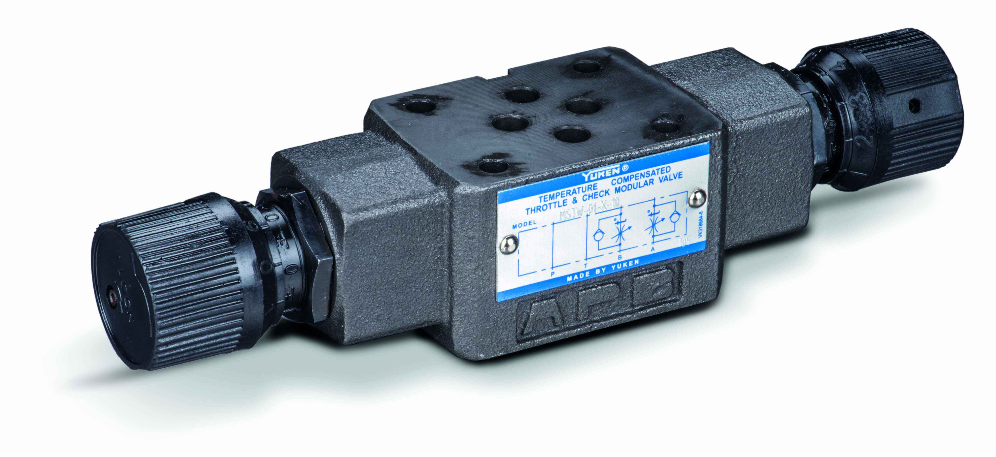 Cetop 3 Temperature Compensated Flow Control & Check Valve