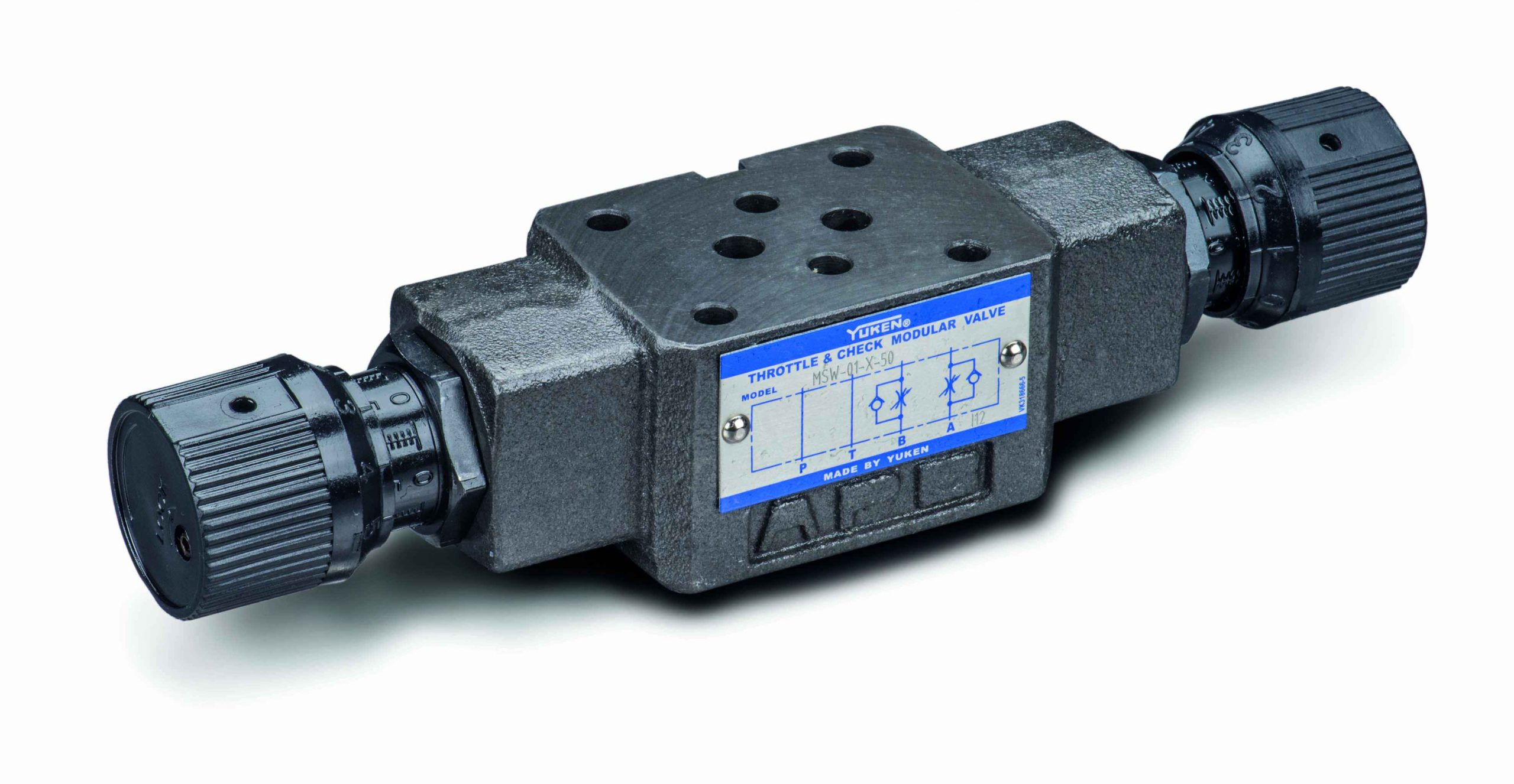 cetop 3 flow control valve with bypass check