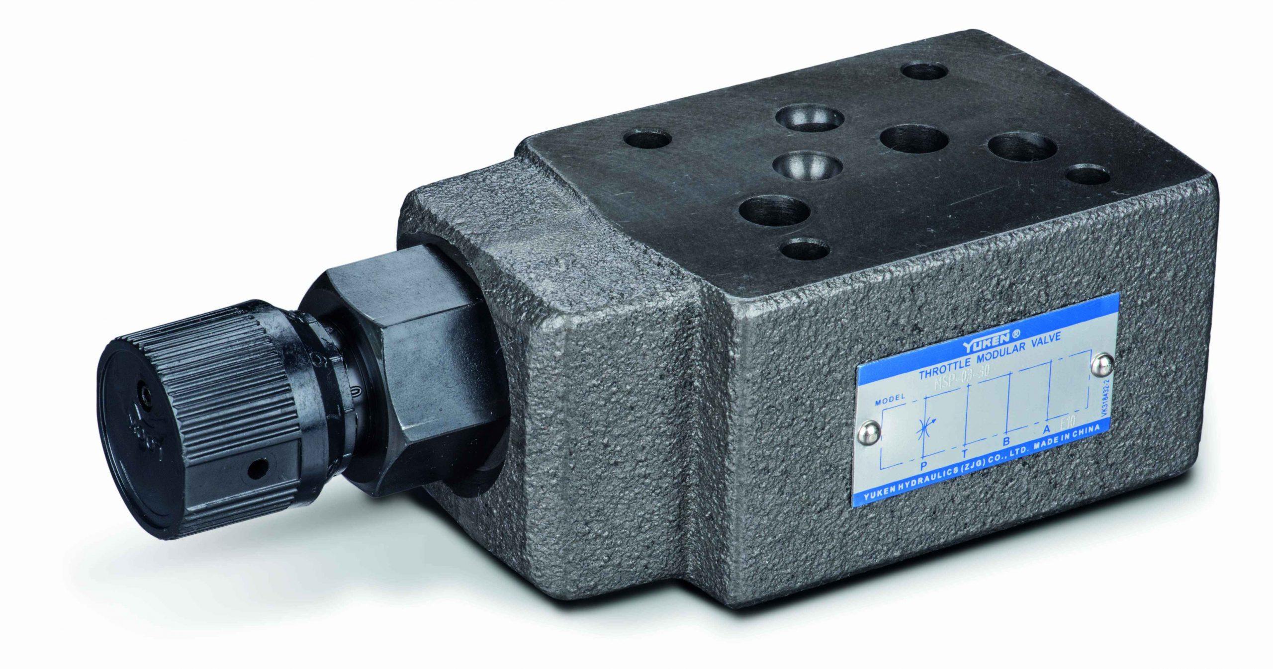 cetop 5 flow control valve no check