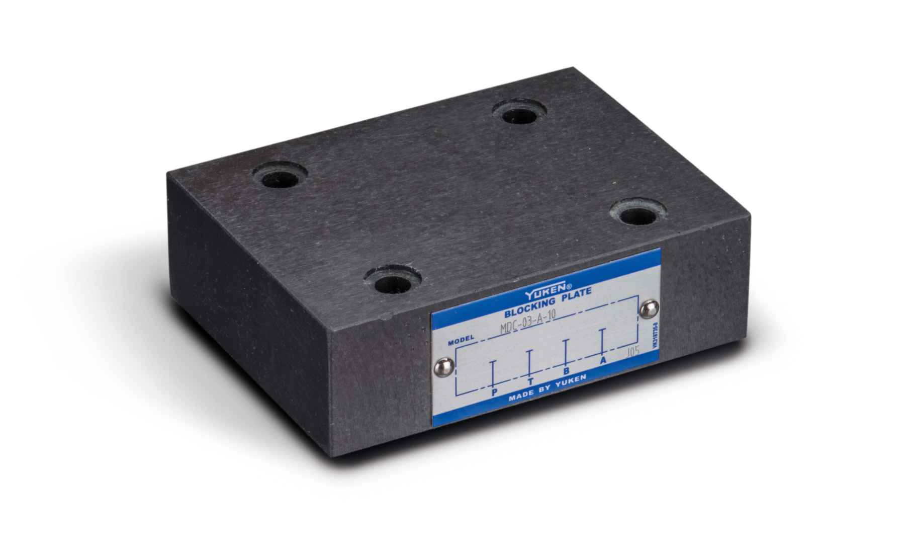 Cetop 5 (NG10) Blanking Plate